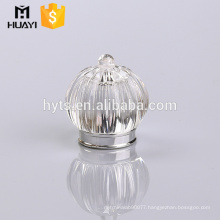 Perfume bottle clear surlyn cap